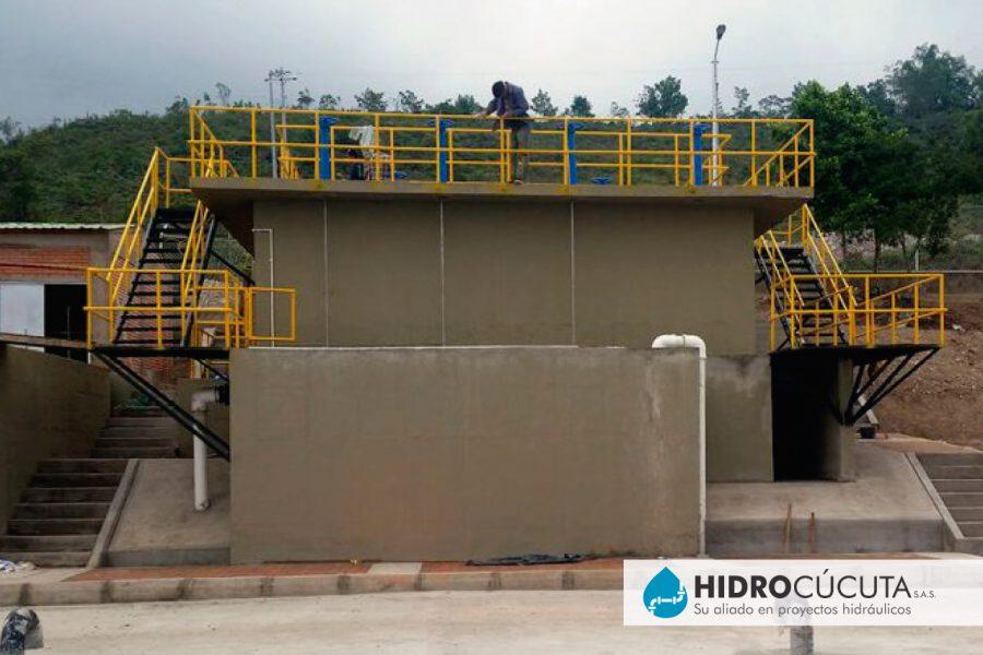 Planta de tratamiento de agua potable PTAP 2 HIDROCÚCUTA