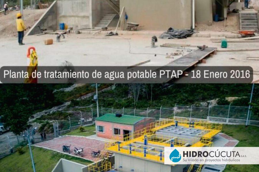 Planta de tratamiento de agua potable PTAP 3 HIDROCÚCUTA
