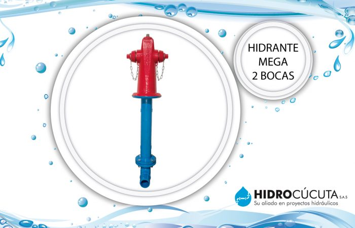 Hidrante Mega 2 Bocas